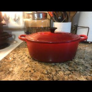 Le creuset and staub pots